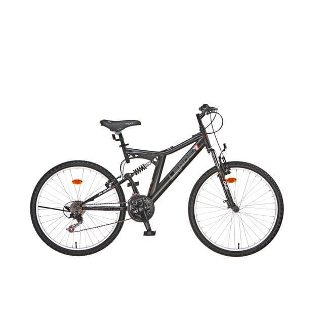 Ποδήλατο Βουνού Leader Rooster Full Suspesion 26-Ποδήλατα Βουνού