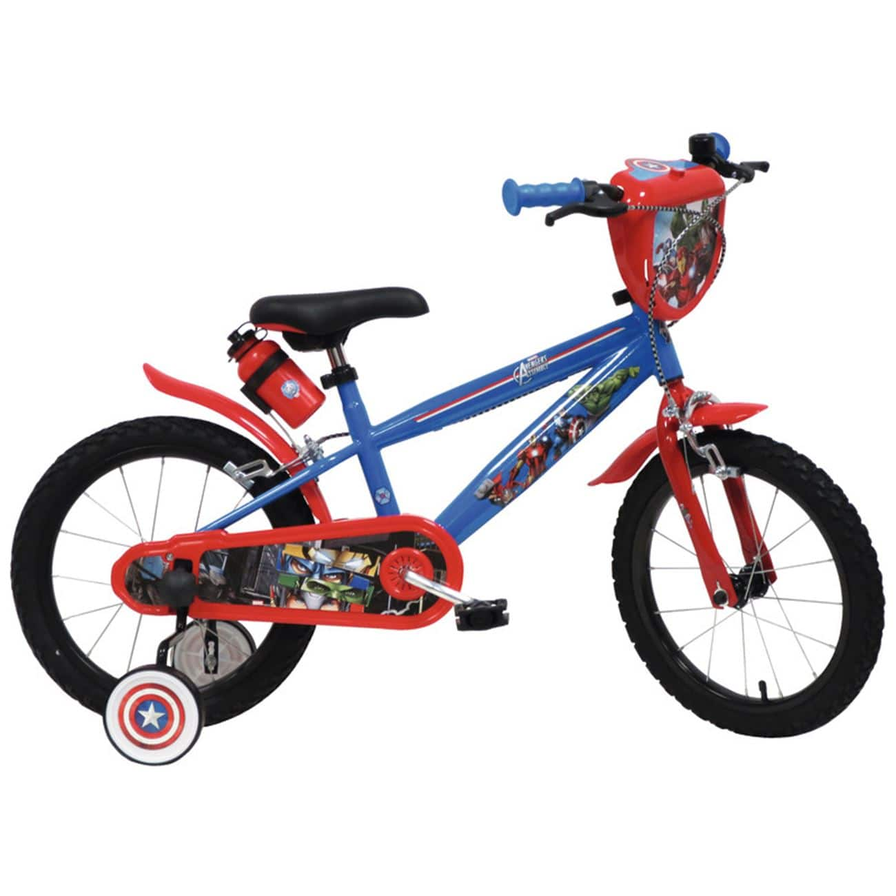 """Παιδικό Ποδήλατο Avengers 16"""" Mbm - Ποδήλατα"""