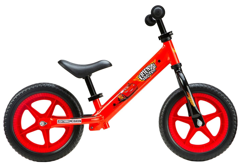 Seven Μεταλλικό Ποδήλατο Ισορροπίας Disney Cars - Παιδικά Ποδήλατα Ισορροπίας