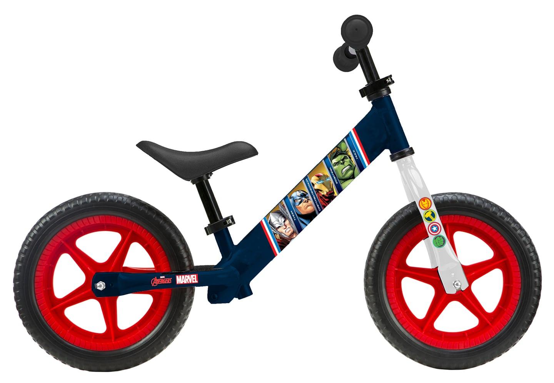 Seven Μεταλλικό Ποδήλατο Ισορροπίας Disney Avengers - Παιδικά Ποδήλατα Ισορροπίας