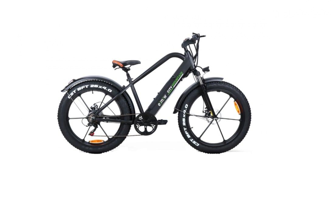 Emw Ηλεκτρικό Ποδήλατο Fat Bike City Mountain - Ηλεκτρικά Ποδήλατα Fat Bikes