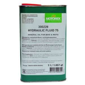 Motorex Hydraulic Fluid Μεταλλικό Υγρό Υδραυλικών Φρένων - Αξεσουάρ Για Ποδήλατο