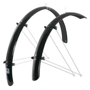Force Φτερά Πλαστικά Για 28'' Τροχό Trekking Με Μεταλλικές Αντιρίδες - Αξεσουάρ Ποδηλάτου
