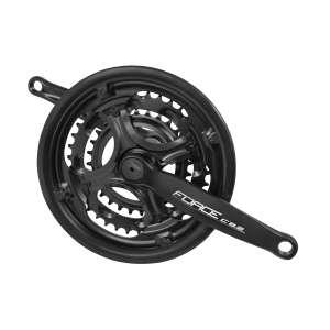 Force Δισκοβραχίονας Σιδερένιος Μαύρος 170mm (28-38-48T) 6-7-8sp - Δισκοβραχίονες Ποδηλάτου