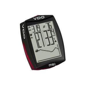 VDO M6.1 (WL) Αλτίμετρο - Παλμογράφος - Ασύρματα Κοντέρ Ποδηλάτου