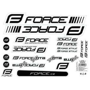 Force Αυτοκόλλητα Ποδηλάτου Mtb-Road - Αυτοκόλλητα Ποδηλάτου