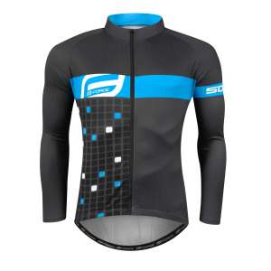 Ποδηλατική Μπλούζα Μακρυμάνικη Force - Ποδηλατικός Ρουχισμός