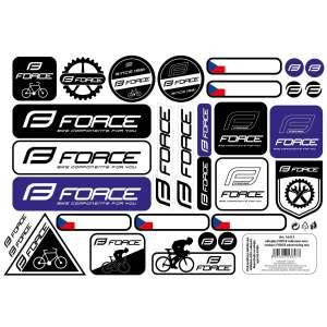 Αυτοκόλλητα Ποδηλάτου Force - Ποδηλατικά Αξεσουάρ