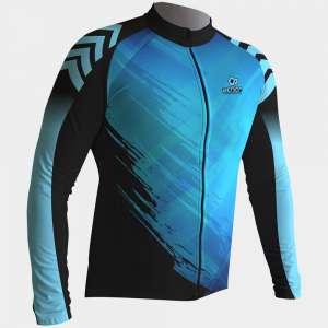 Ποδηλατικό Μακρυμάνικο Μπλουζάκι-Ρουχισμός Ποδηλάτου