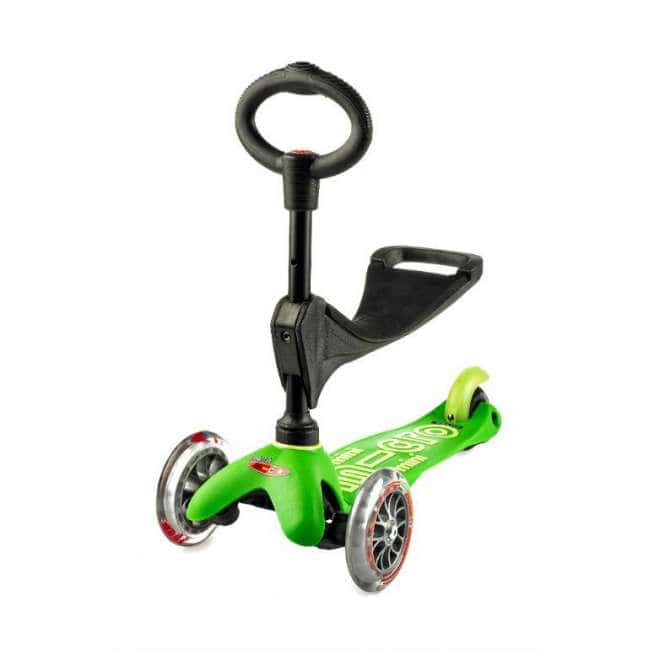Micro Scooters Mini 3 In 1 Deluxe Πράσινο