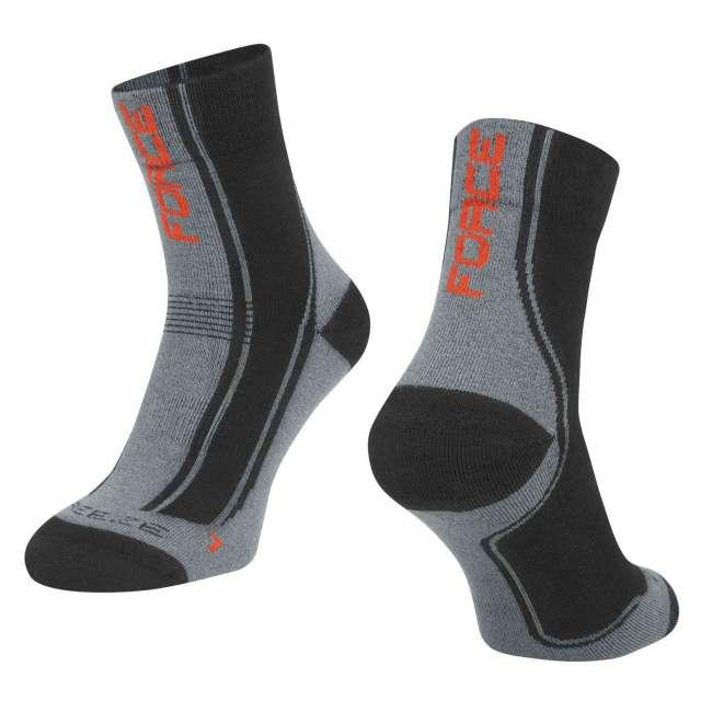 Κάλτσες Ποδηλάτου Force-Ρουχισμός Ποδηλάτου